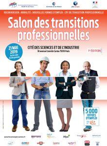 Le label Emploi 45+ au Salon des Transitions Professionnelles @ Cité des Sciences et de l'Industrie