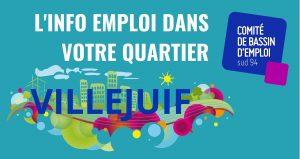 JOB TRUCK : l'info emploi à Villejuif @ Devant le Centre Commercial Villejuif 7 (Carrefour)