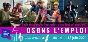 """La semaine """"OSONS L'EMPLOI"""" @ Salle Marco Polo"""